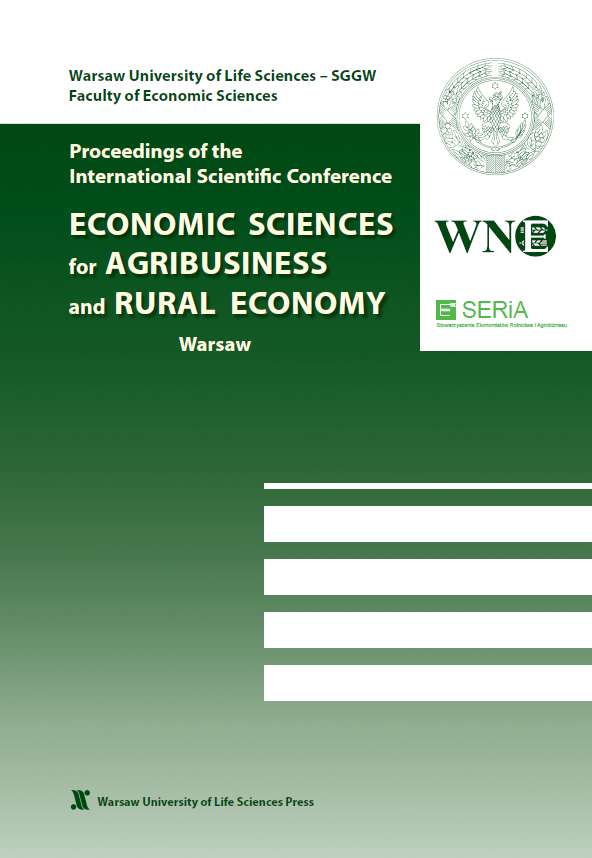 Economic Sciences for Agribusiness and Rural Economy